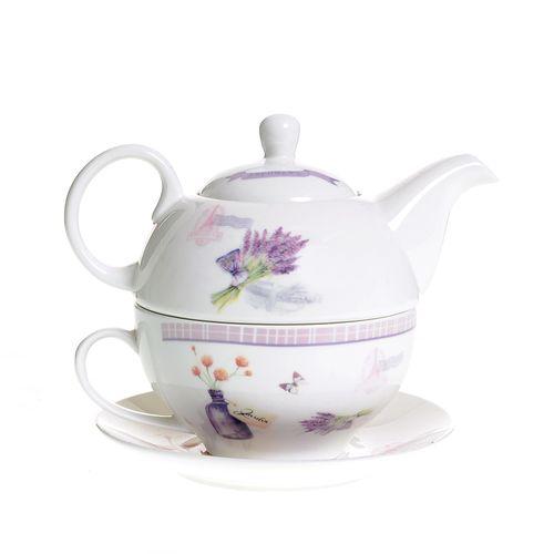Set ceai decor lavanda poza 2021