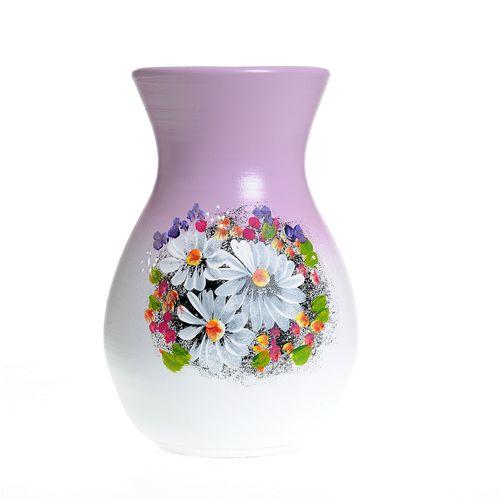 Vaza ceramica model floral poza 2021