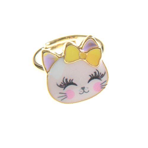 Inel pisicuta roz de copii poza 2021