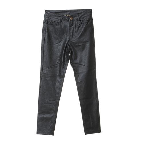 Pantaloni dama aspect piele poza 2021