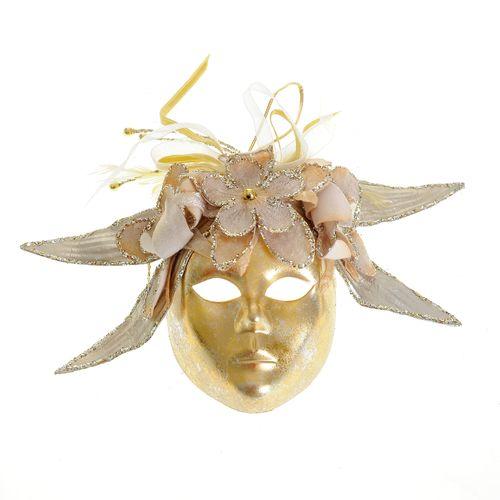 Decoratiune masca aurie poza 2021