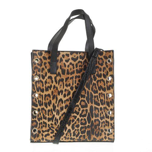 Geanta dama print leopard poza 2021