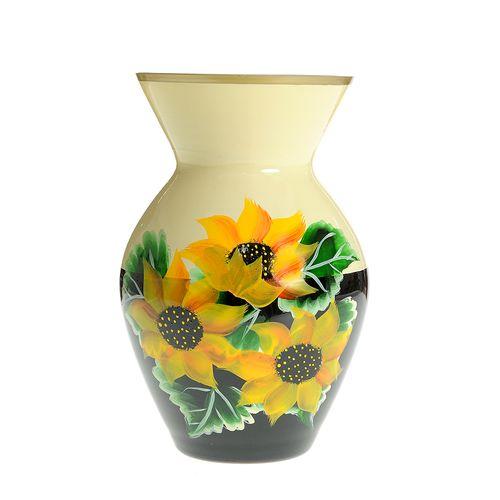 Vaza sticla floarea soarelui poza 2021