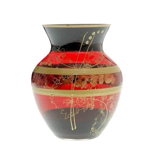Vaza sticla rosie poza 2021