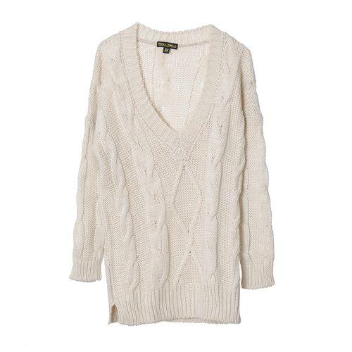 Pulover tricotat cu anchior poza 2021