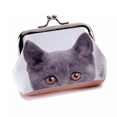 Mini portofel pisica