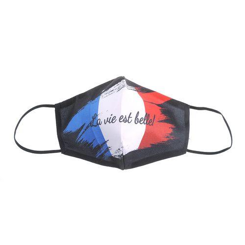 Masca textila steag francez