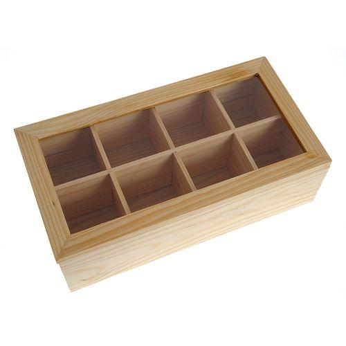 Cutie lemn organizator ceai poza 2021